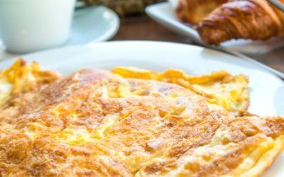 Energetyczny omlet na słodko