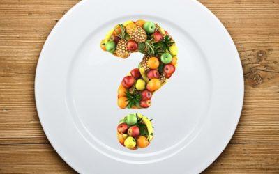 Talerz zdrowego jedzenia
